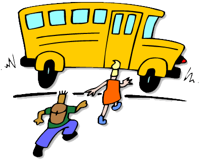 Buss. Tegning